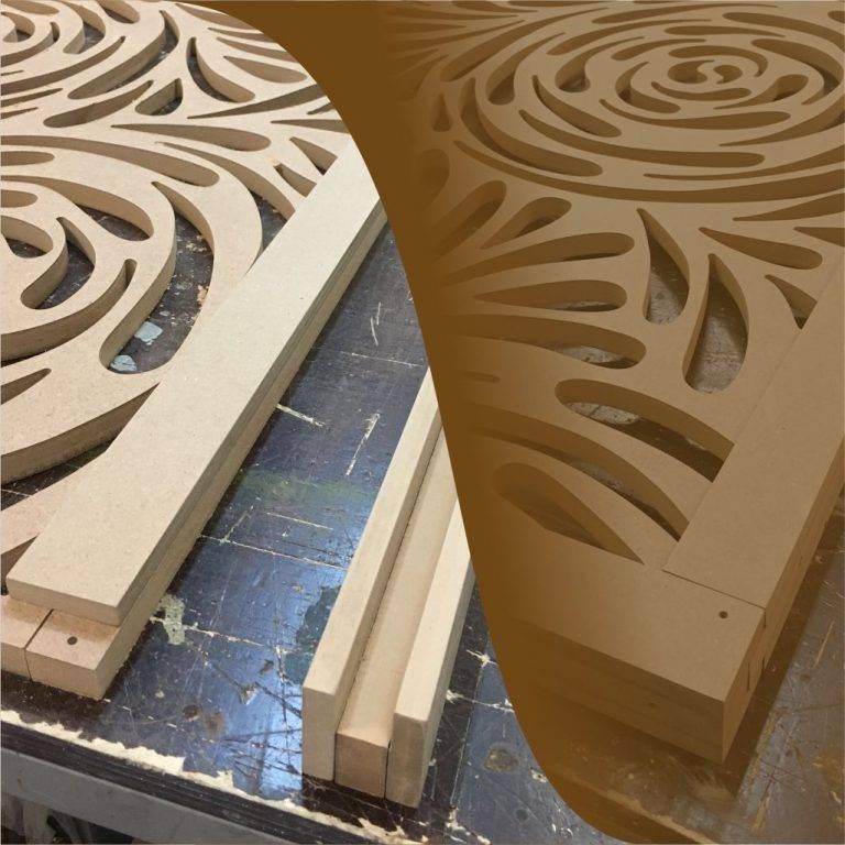 Рамки за декоративни решетки