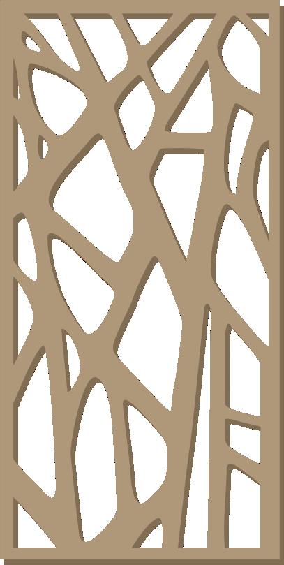 декоративна решетка дърво