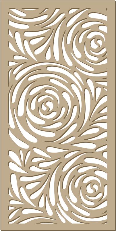 Декоративна решетка с растителни мотиви